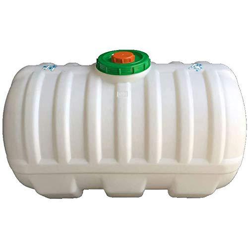 Cacoffay Casa El plastico 100 litros Regadera Agua Portador Casa Cámping Herramienta Incluso Grifo y Tapa,200l