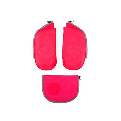 ergobag cubo Seitentaschen Zip-Set - Sicherheits-Set mit Seitentaschen, cubo/cubo light, Set 3-teilig