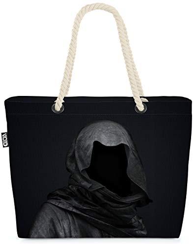 VOID Jinete Muerte Bolsa de Playa 58x38x16cm 23L Shopper Bolsa de Viaje Compras Beach Bag Bolso