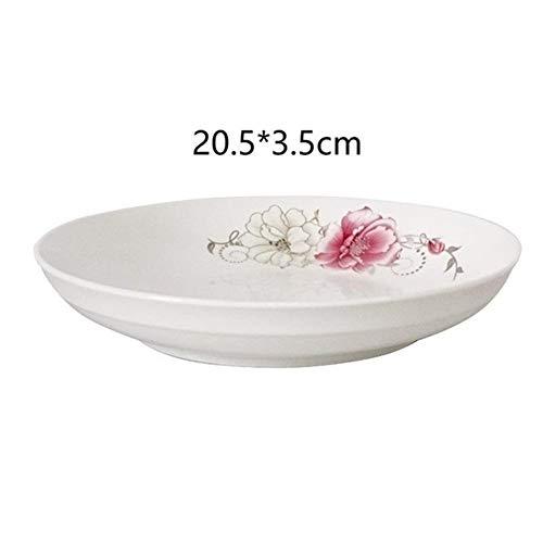 Bowls Keuken Accesoires Cuenco Plato Vajilla Utensilios de Cocina Vajilla de Porcelana Vajilla Placa Tigela Sopa de Cocina Comedor Bar Cuenco de cerámica Bowls-7.31 (Color : Version G)