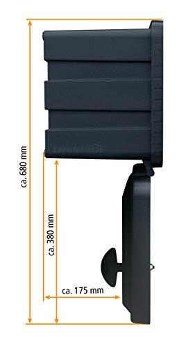 LKW Staukasten aus Kunststoff 500x350x300mm 30 ltr, Werkzeugkasten, Staubox, Unterbaubox für Nutzfahrzeuge Anhänger, Staubox, Werkzeugkiste, Gurtkiste, Deichselbox, Daken Just, Daken J030 - 4