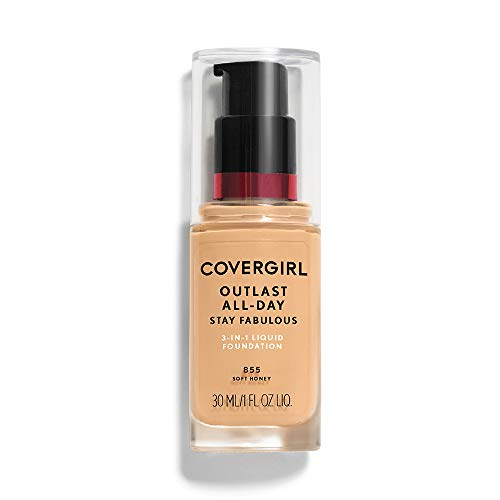 COVERGIRL - Outlast Stay Fabulous 3-in-1 Foundation Soft Honey - 1 fl. oz. (30 ml)