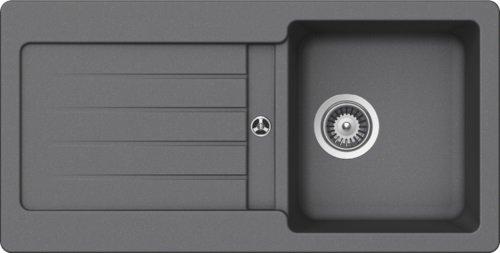 Schock Küchenspüle 86 x 43,5 cm Typos D-100S Croma - CRISTALITE Granitspüle ab 45 cm Unterschrank-Breite