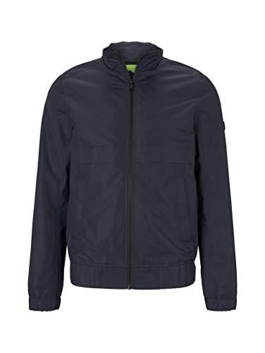 TOM TAILOR Denim Jacken Moderne Jacke mit Stehkragen Sky Captain Blue, XL
