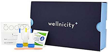Wellnicity - at-Home Thyroid Test. A Simple fingerstick Blood Test That Measures. 4 Key Thyroid Markers to Gauge Thyroid Health. Not Available in NY, NJ or RI