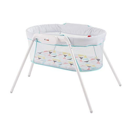 Fisher-Price lit pliable et transportable avec vibrations pour apaiser bébé, sac de rangement inclus, dès la Naissance, GBR67 [Exclusif Amazon]