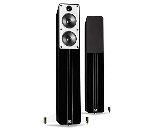 Diffusori Da Pavimento (Coppia) Q Acoustics Concept 40 Nero High Gloss