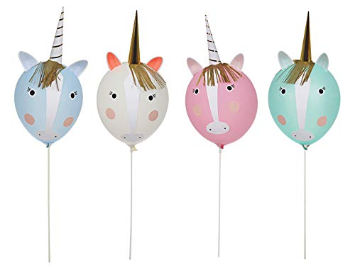 Meri Meri 45-2290 Unicorn Balloon Kit Novelty by Meri Meri