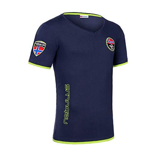 Nebulus Powers T-shirt pour homme Bleu marine – XL
