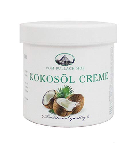 4x Kokosöl Creme 250ml - Pullach Hof Traditional Quality