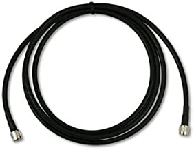 Times Microwave USA LMR-400 50 0hm Coxial Cable N Male to RP-TNC Connectors 10ft