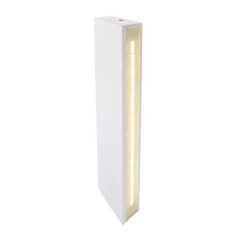 Lampe murale LED Arne, AC 220–240 V/50–60 Hz, 3000 K blanc 5 W, aluminium brossé, EEK : A