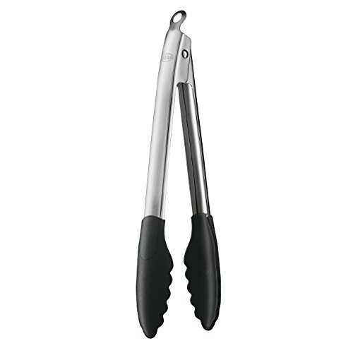 Rosle 12926 Stainless Steel Lock amp Release Silicone Coated Cooking Tongs 12inch