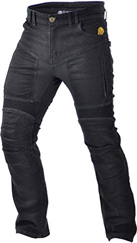 Trilobite 661 Parado Slim Motorradjeans Schwarz 34