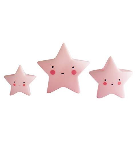 A Little Lovely Company Mini Étoiles Rose