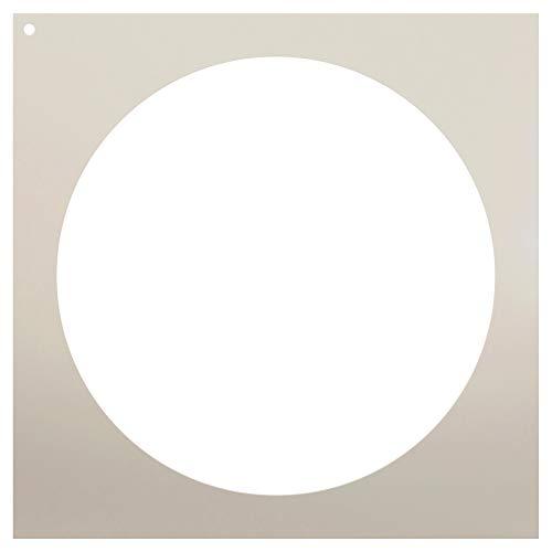 Kreis Schablone, durch studior12| Einfache Form Vorlage 12Zoll Kreis–wiederverwendbar Mylar | Malerei, Kreide, Mischtechnik | Vorlage, für Wand-Kunst, DIY Home Decor–stcl965Größe wählen 8