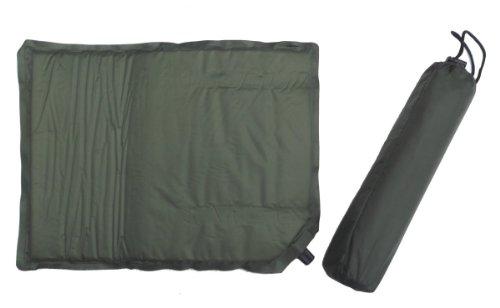 Doppelpack Thermo Sitzkissen selbstaublasend mit Transportbeutel Oliv