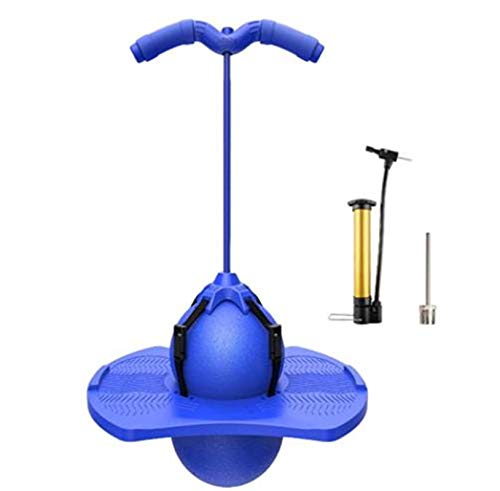YDYG Pogo Ball Pogo Stick Jumper Balance Ball desmontable saltar juguete de salto juego en casa juegos de interior fitness Body Workout accesorios azul