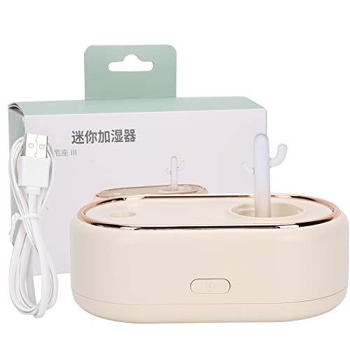 FILFEEL Mini Humidificador, humidificadores de Aire con alimentación USB, difusor de aromaterapia humidificador de Niebla fría de 600 ml, para el el hogar, Dormitorio, la Oficina(Amarillo)