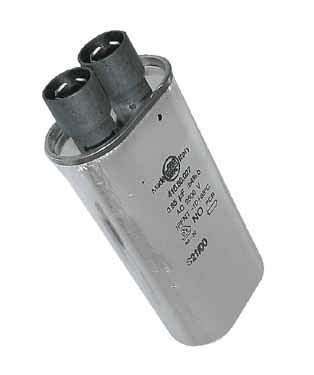 CONDENSATEUR 0.9 ΜF VIP27 2500V POUR MICRO ONDES WHIRLPOOL - 481931038775