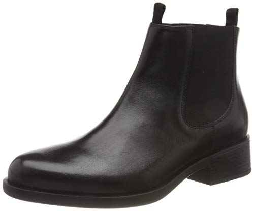 Geox Damen D RESIA A Equestrian Boot, Black, 41 EU
