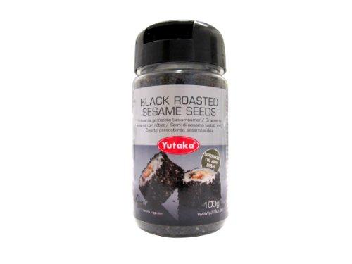YTK torréfié noir de graines de sésame 100g