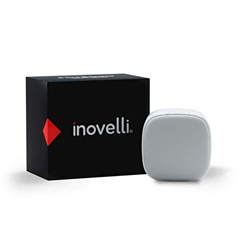 Inovelli Z-Wave Motion Sensor (Detects Motion, Temperature, Light, Humidity via Zwave) | Works with SmartThings (Samsung) | Z-Wave Plus with S2 Encryption & SmartStart