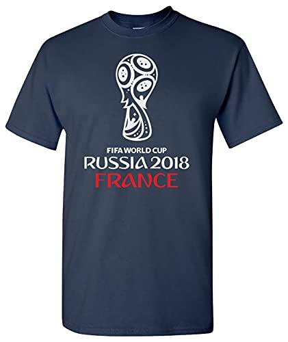 Camiseta de fútbol 2018 Francia Deportes Fan Team Tee Shirt
