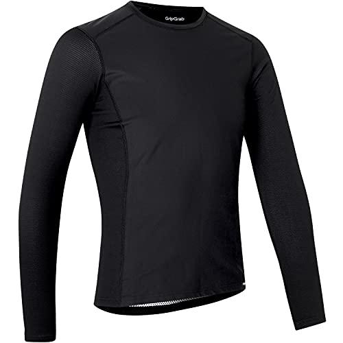 GripGrab Maglia Intima Ciclismo Invernale a Maniche Lunghe Termica Antivento Traspirante Abbigliamento Tecnico Ciclismo