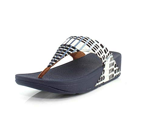 FitFlop Lulu Denim/Midnight Navy 10