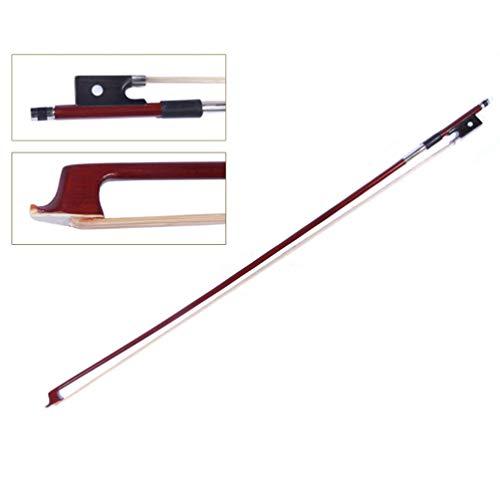 Milisten Strijkstok 1/4 Maat Prime Achthoekig Brazilwood Ebbenhout Viool Onderdelen Voor Viool Instrument