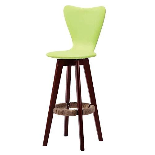 LJBXDCZ NJ barkruk keuken barkruk barstoel, massief houten barkrukken/hoge stoel terras koffie buiten draai barstoel keuze uit verschillende kleuren