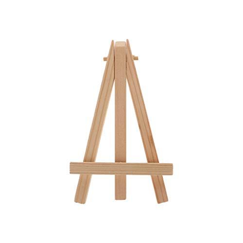 SDGDFXCHN Creative Petit Chevalet Mini Triangle Support Bois D/écoration DIY Outils