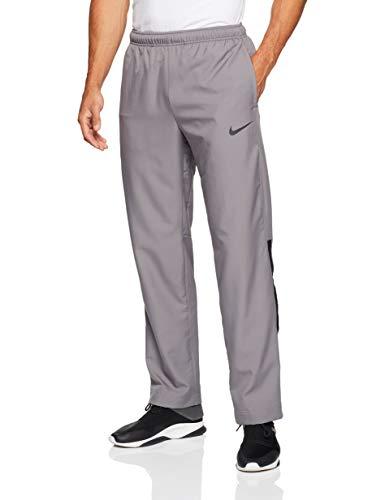 Nike Mens Dri-Fit Woven Training Pants Gunsmoke Grey/Black 927380-036 Size Medium