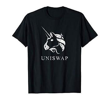UNISWAP UNI Unicorn Ethereum Decentralized DeFi Blockchain T-Shirt