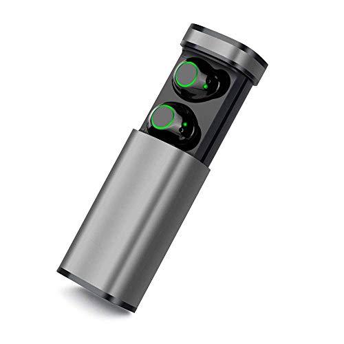 Auriculares inalámbricos portátiles, Bluetooth 5.0 Versión en la oreja los auriculares de control Touch 15 horas de reproducción IPX5 impermeable Estéreo 3D de sonido Auriculares, adecuados for iOS y