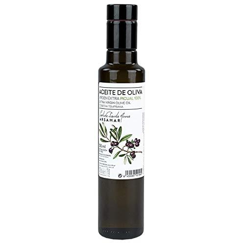 Picual Extra Virgin Olive Oil Eerste koudgeperste glazen container (4 Fles van 250 ml)