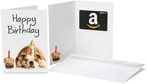 Amazon.co.uk Gift Card for Any Amount in a Birthday Bulldog Greeting C