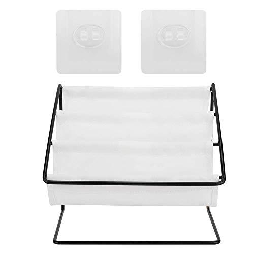 Soporte para gafas, soporte multifuncional para almacenamiento de gafas, soporte para escritorio, organizador de estantes de almacenamiento (blanco)