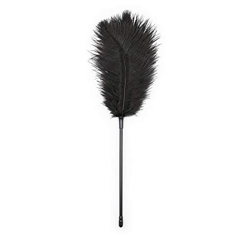 Tickler Teaser Feather Paddle Spànking for Couple Night Games Toys Black