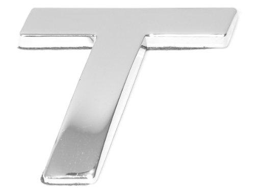 Eufab 30330 3d-letter T Car-logo