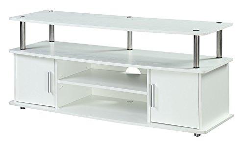 Convenience Concepts Designs2Go Monterey TV Stand, White