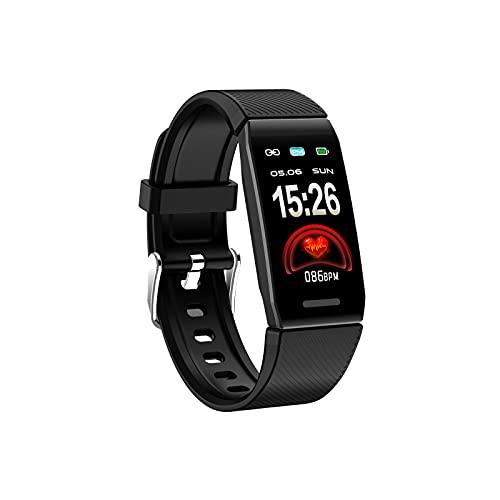 Uniguardian Smartwatch Armband Smart Watch Intelligentes Armband Farbgroßer Bildschirm Smartwatch Wasserdichtes Fitness-Armband für IOS Android Sports Herren Damen Fitness mit Ladegerät