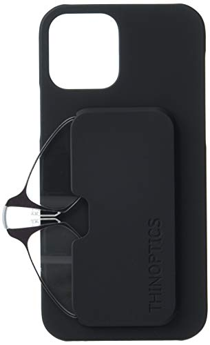 ThinOptics iPhone 12/12 Pro Slimline Lesebrille Schwarz 1,5x+1,5