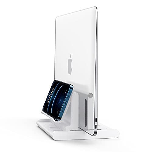 Vertical Laptop Stand,Space-Saving Desktop Stand...