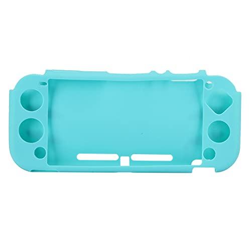 Emoshayoga Funda Protectora Funda de Silicona con Todo Incluido para la Consola de Juegos Switch Lite(Host Blue)