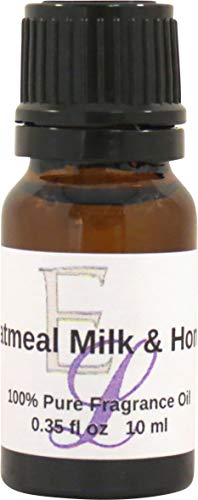 Oatmeal Milk And Honey Fragrance Oil by Eclectic Lady, 10 ml, Premium Grade Fragrance Oil, Perfect for Aromatherapy, Soaps, Lotions, Slime, and Other Bath and Body Products