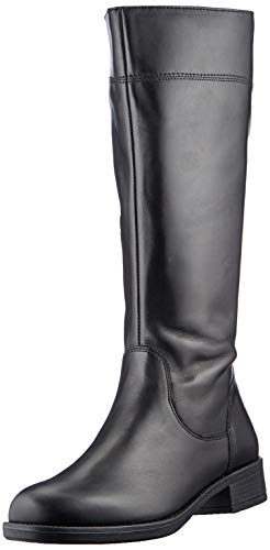 Tamaris Damen 1-1-25550-25 Kniehohe Stiefel, schwarz, 41 EU