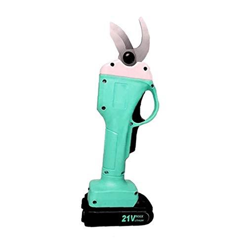 lulongyansf 21V Elektro-Astschere Garten Astschneider Cordless LED-Taschenlampe Garten Trimmer Secateurs EU-Stecker für Industrie & Produktion