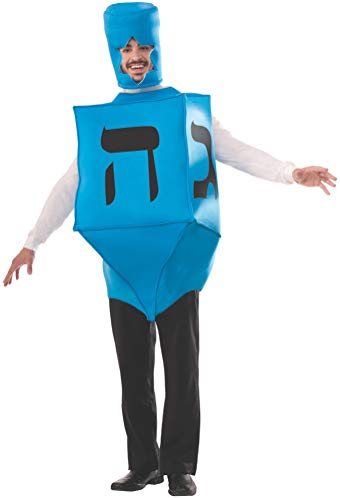 Forum Novelties Men's Dreidel Hanukkah Costume, Blue, One Size